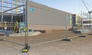 Mobile Fence STRONG H 262*100/3.3/3.3mm, Ø40/30/1.2mm